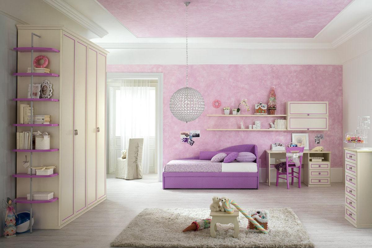 Camere Da Letto Classiche Romantiche : Camere per ragazzi classiche elegant battistella room con la