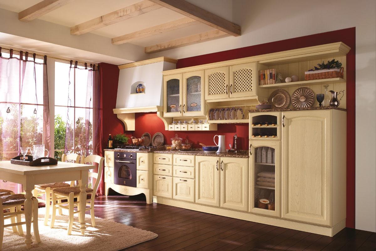 cucine componibili classiche - cubadak torino - Cucine Classiche Componibili
