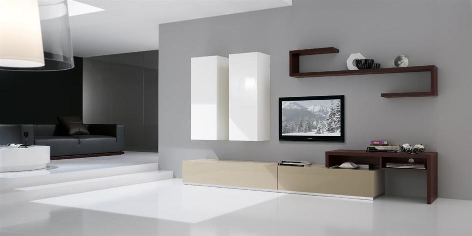 Pareti soggiorno moderne cubadak torino for Pareti moderne
