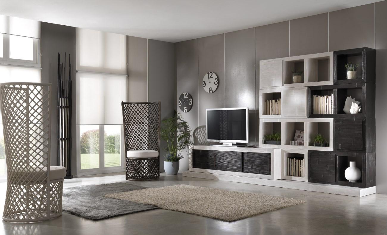 Pareti soggiorno coloniali cubadak torino - Living mobili soggiorno ...
