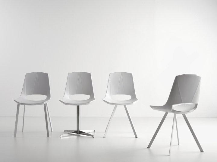 Sedie Bianche Design : Tavoli e sedie moderne cubadak torino